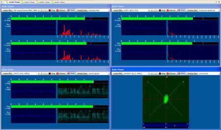 DVBAnalyzer Audio Viewer
