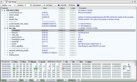 DVBAnalyzer HexViewer