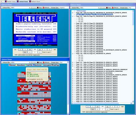 DVBAnalyzer Teletext