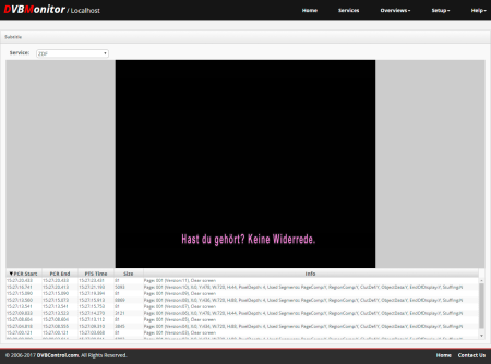 DVBMonitor: DVB-Subtitle